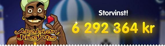 Ny CasinoRoom-spelare vann 6-miljonersjackpott – första dagen som medlem