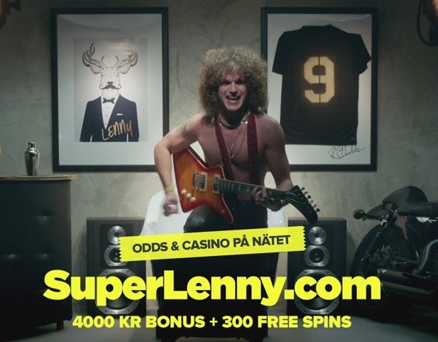 SuperLenny bjuder på pudelrock, nya spel och & VM-godis