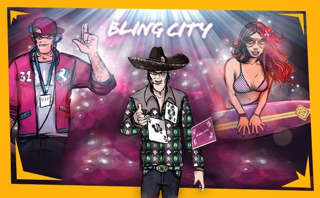 BlingCity skimrande priser och nya bonusar