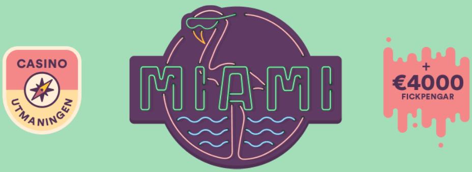 Vinn resa till Miami hos Casumo