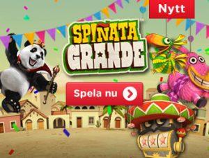 Freespins på Spinata Grande hos Royal Panda