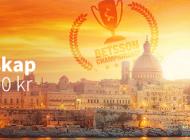 Casinomästerskap hos Betsson