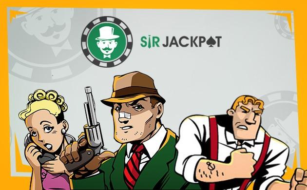 Spela med bonus hos SirJackpot