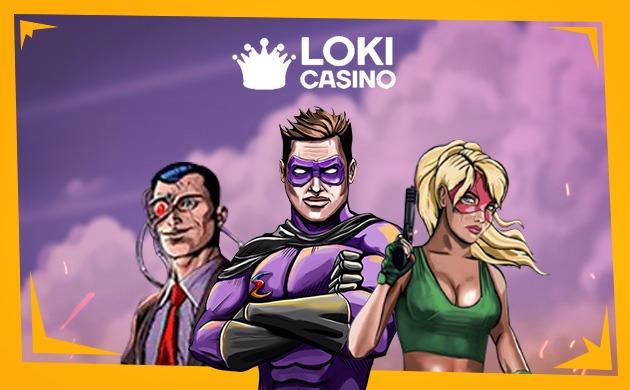 Spela slots hos Loki Casino på nätet