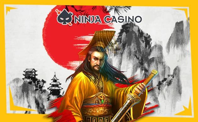 NinjaCasino banner