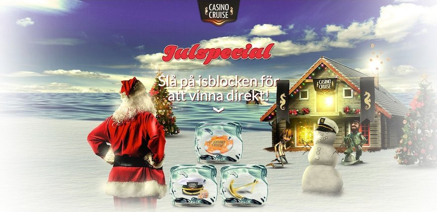 casinocruise julspecial med casinobonusar