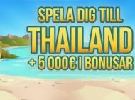 Vinn resa till Thailand och en del av 50 000 kr
