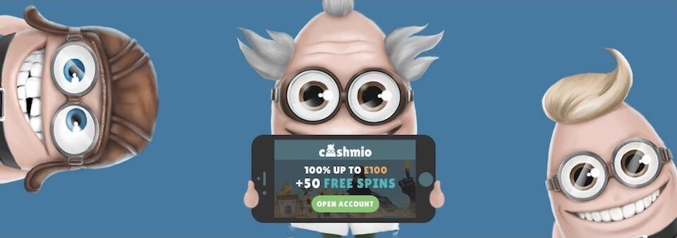 Spela Cashmio i mobilcasino och surfplatta
