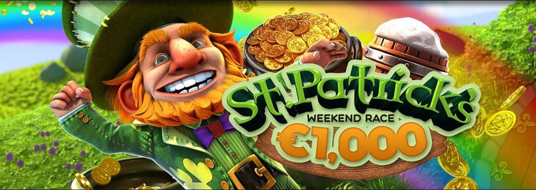 BitStarz St Patrick tävling med 10.000 kronor i potten