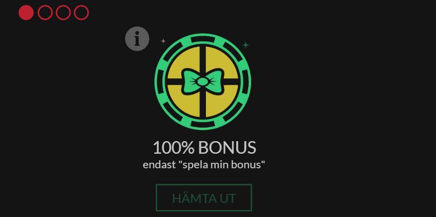 Boombet Casino få en bonus på 100%