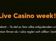 Bonusfest och Live casino vecka