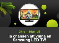 Vinn en LED TV från Samsung