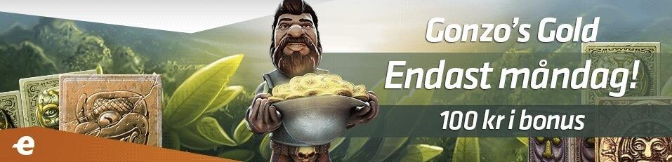 Gonzo's Quest-bonus med Expekt