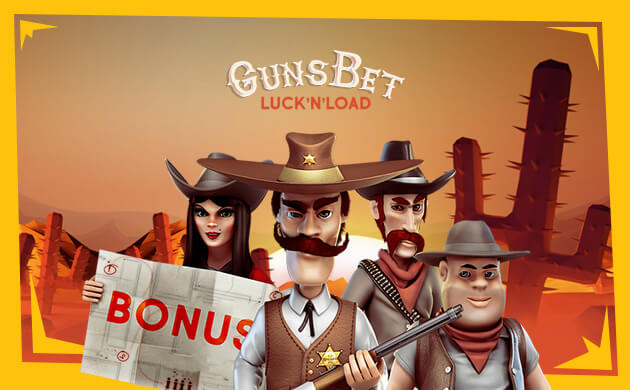 GunsBet casino banner