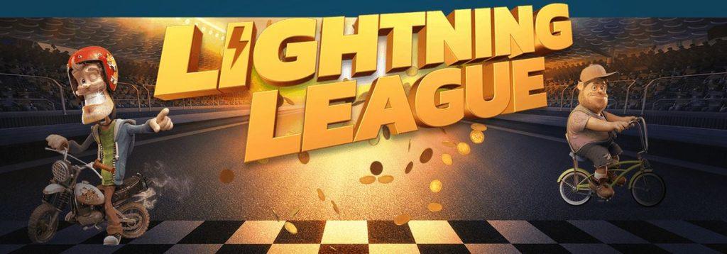 Tävla om stora pengar i Lightning League hos Thrills