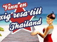 Spela och vinn en resa till Thailand!