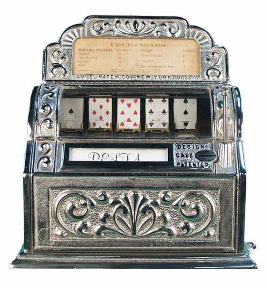 Den första slotautomaten