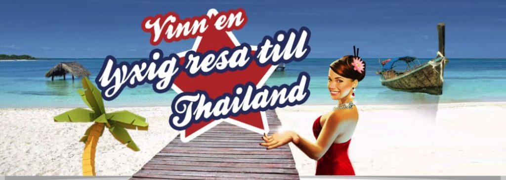 vinn en resa till Thailand hos Casimba