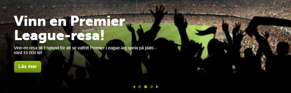 Vinn resa till Premier League hos Comeon
