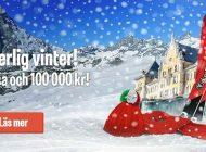 Vinn en resa + 100.000 kronor i fickpengar!