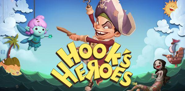spelautomat hooks heroes från netent