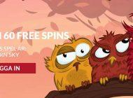 Free spins till hela helgen idag!