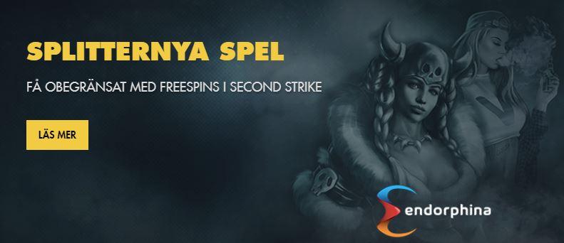 free spins till nya spel hos BetHard