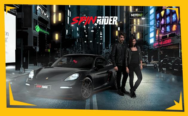 SpinRider Casino banner