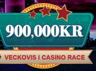 Missa inte casino racen med 900 000 kr i potten varje vecka!