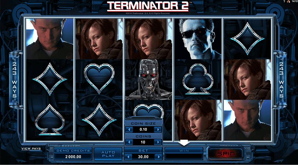 terminator 2 film slot