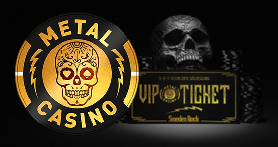 metal casino VIP ticket