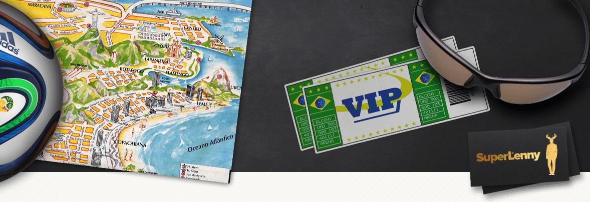 Häng med SuperLenny till VM i Rio