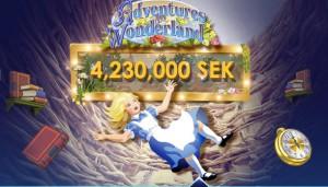 GalaWonderland Jackpot med över 4 miljoner kronor