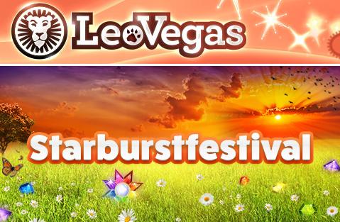 LeoVegas Starburstfestival starburst slot