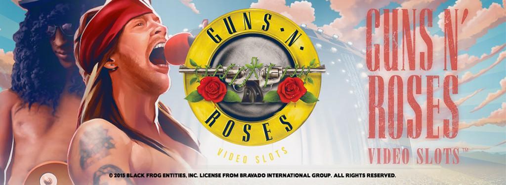 Spela på Guns N' Roses hos Casino Heroes